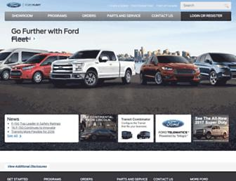 fleet.ford.com screenshot