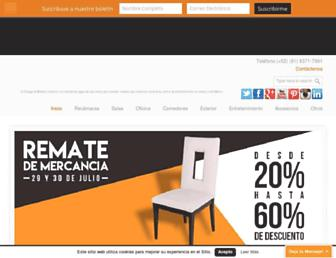bodegademuebles.com screenshot