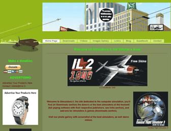 simulators.jimdo.com screenshot