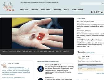 ai.mit.edu screenshot
