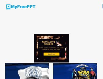 myfreeppt.com screenshot