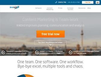 Thumbshot of Linkbird.com