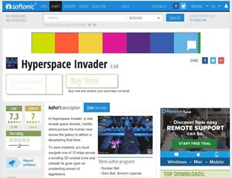hyperspace-invader.en.softonic.com screenshot