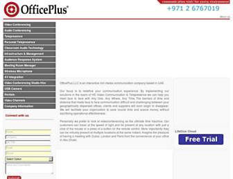 officeplusuae.com screenshot