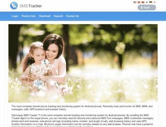 smstrackerweb.com screenshot