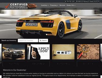 certifiedautomall.com screenshot