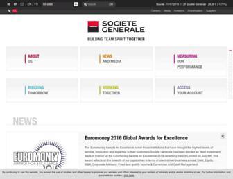 Thumbshot of Societegenerale.com