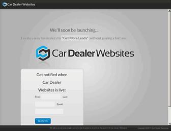 Thumbshot of Cardealerwebsites.com.au