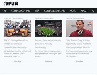 thespun.com screenshot
