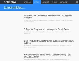 snaphow.com screenshot