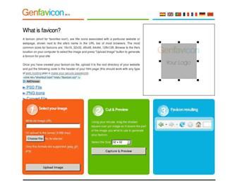 genfavicon.com screenshot