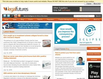 legalfutures.co.uk screenshot