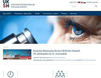 uksh.de screenshot
