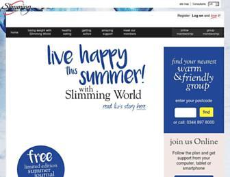 slimmingworld.co.uk screenshot