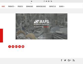 mapsscada.com screenshot