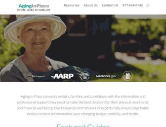 aginginplace.org screenshot