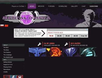 mentalomega.com screenshot