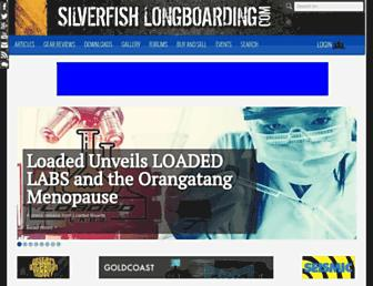 silverfishlongboarding.com screenshot