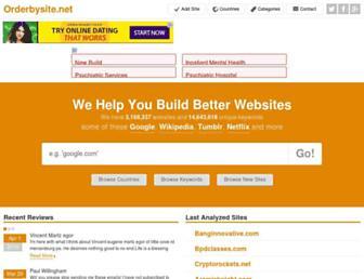 orderbysite.net screenshot