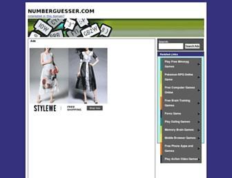 Thumbshot of Numberguesser.com
