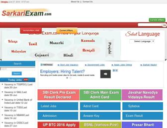 Thumbshot of Sarkariexam.co.in