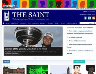 thesaint-online.com screenshot