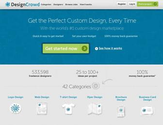 Thumbshot of Designcrowd.com