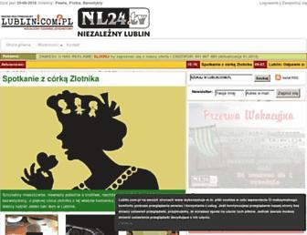 Fullscreen thumbnail of lublin.com.pl