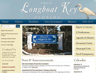 longboatkey.org screenshot