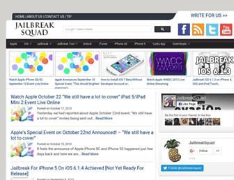 jailbreaksquad.com screenshot