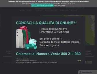 online-ups.it screenshot