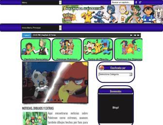 pokemonlaserielatino.com screenshot
