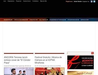 Thumbshot of Filarmonia.org