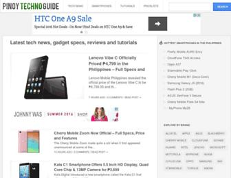 pinoytechnoguide.com screenshot