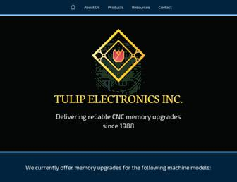 tulipmemory.com screenshot