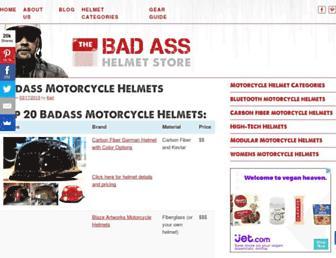 badasshelmetstore.com screenshot