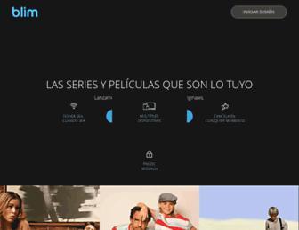 Main page screenshot of veo.tv