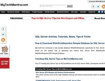 Thumbshot of Mytechmantra.com