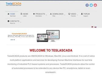 teslascada.com screenshot