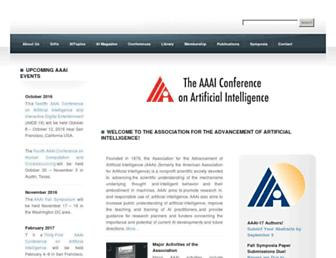 Thumbshot of Aaai.org