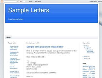 best-letter.blogspot.com screenshot