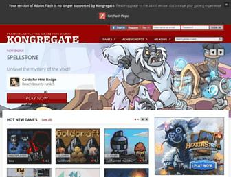Thumbshot of Kongregate.com