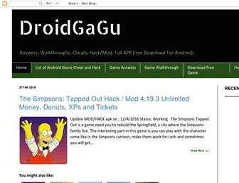 droidgagu.blogspot.com screenshot