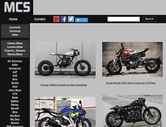 motorcyclespecs.co.za screenshot