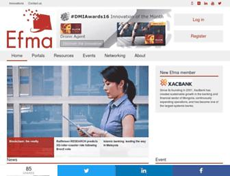efma.com screenshot