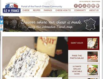 Thumbshot of Iledefrancecheese.com