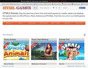 htmlgames.com screenshot