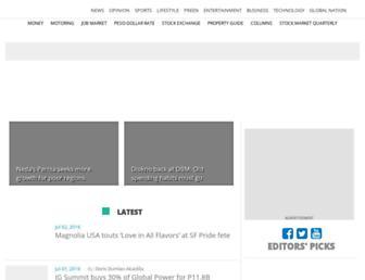 business.inquirer.net screenshot