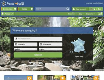 Fullscreen thumbnail of france-voyage.com