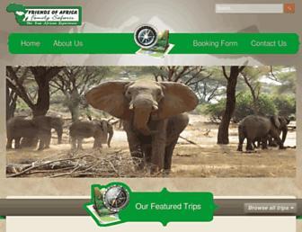 Thumbshot of Friendsofsafaris.com